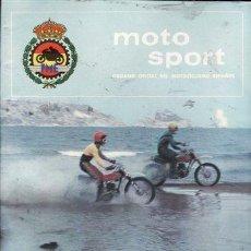 Coches y Motocicletas: REVISTA MOTO SPORT Nº 61 AÑO 1976.. Lote 22060564