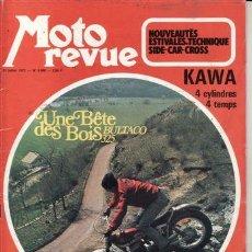 Coches y Motocicletas: REVISTA MOTO REVUE Nº1 2086 AÑO 1972. PRUEBA: BULTACO 325.. Lote 22060759