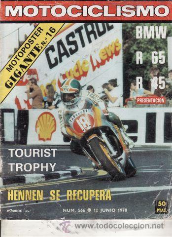 REVISTA MOTOCICLISMO Nº 566 AÑO 1978. PRUEBA: BMW R 45. PRUEBA: BMW R 65. (Coches y Motocicletas - Revistas de Motos y Motocicletas)