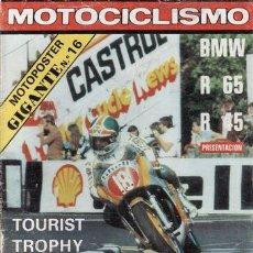 Coches y Motocicletas: REVISTA MOTOCICLISMO Nº 566 AÑO 1978. PRUEBA: BMW R 45. PRUEBA: BMW R 65. . Lote 22061313