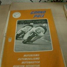 Coches y Motocicletas: GRAN PRIX NUM.6 FOTO ADICIONAL. Lote 27004253