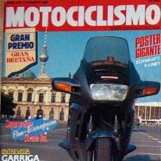 Coches y Motocicletas - MOTOCICLISMO Nº 1172 AGO 90,HONDA PAN EUROPEAN, ENTREVISTA GARRIGA, LAS TRAIL 125, GP GRAN BRETAÑA - 23239987