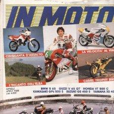 Coches y Motocicletas: REVISTA MOTO Nº 11 AÑO 1978. PRUEBA: SUZUKI GS 1000. PRUEBA: LAVERDA F 500. PRUEBA: SUZUKI RG 500. P. Lote 23417838