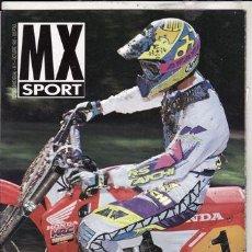 Coches y Motocicletas: REVISTA MX SPORT Nº 1 AÑO 1992. PRUEBA: SUZUKI RM 250 (93). INGLES. Lote 112108343