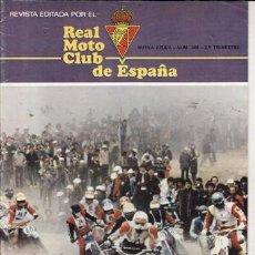Coches y Motocicletas: REVISTA REAL MOTO CLUB DE ESPAÑA Nº 349 AÑO 1979. Lote 23557495