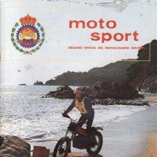 Coches y Motocicletas: REVISTA MOTO SPORT Nº 118 AÑO 1981. . Lote 23557548