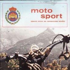 Coches y Motocicletas: REVISTA MOTO SPORT Nº 120 AÑO 1981. . Lote 23557578