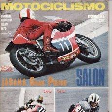 Coches y Motocicletas: REVISTA MOTOCICLISMO Nº 2ª QUINCENA DE ABRIL AÑO 1975. PRUEBA: MORINI 350 SPORT. . Lote 23663998
