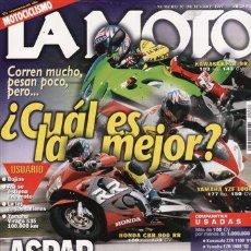 Coches y Motocicletas: REVISTA LA MOTO Nº 92 AÑO 1997. PRUEBA: HONDA VFR. PRUEBA: HONDA CB 500 S. PRUEBA: DUCATI 900 SS MOT. Lote 23689068