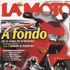 Coches y Motocicletas: REVISTA LA MOTO Nº 94 AÑO 1998. PRUEBA: YAMAHA FZS 600 FAZER. PRUEBA: HARLEY DAVIDSON ROAD KING. PRU. Lote 194187283