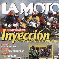 Coches y Motocicletas: REVISTA LA MOTO Nº 95 AÑO 1998. PRUEBA: KAWASAKI ZX 6R. PRUEBA: SUZUKI TL 1000 R. PRUEBA: HONDA DEAU. Lote 194187306