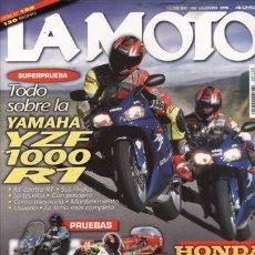 Coches y Motocicletas: REVISTA LA MOTO Nº 100 AÑO 1998. PRUEBA: KAWASAKI VULCAN 1500 CLASSIC TOURER. PRUEBA: MOTO GP 6. PRU. Lote 23697372