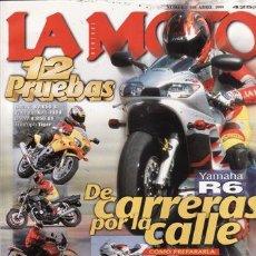 Coches y Motocicletas: REVISTA LA MOTO Nº 108 AÑO 1999. PRUEBA: SUZUKI SV 650 S. PRUEBA: YAMAHA XJR 1300. PRUEBA BMW R 850 . Lote 23698515