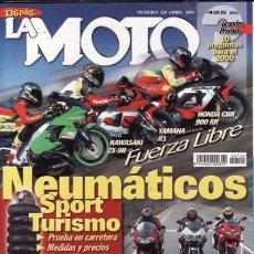 Coches y Motocicletas: REVISTA LA MOTO Nº 120 AÑO 2000. PRUEBA: CAGIVA RAPTOR. PRUEBA: CAGIVA V RAPTOR. PRUEBA RACING: DUCA. Lote 46205782