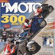 Coches y Motocicletas: REVISTA LA MOTO Nº 122 AÑO 2000. PRUEBA: YAMAHA R7 SUPERBIKE. PRUEBA: KAWASAKI ZX 9R PHOENIX. PRUEB. Lote 23699969