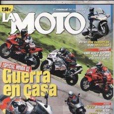 Coches y Motocicletas: REVISTA LA MOTO Nº 145 AÑO 2002.. Lote 125156390