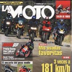 Coches y Motocicletas: REVISTA LA MOTO Nº 164 AÑO 2003. PRUEBA: DUCATI 750 PASO. YAMAHA XS 400. YAMAHA FZ6 FAZER. DICATI ST. Lote 235304020
