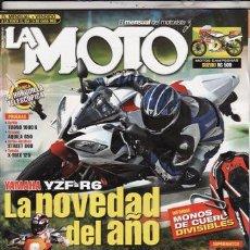 Coches y Motocicletas: REVISTA LA MOTO Nº 188 AÑO 2005. . Lote 58375854