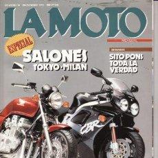 Coches y Motocicletas: REVISTA LA MOTO Nº 20 AÑO 1991. PRU: GILERA NORDWEST 600. COMP: HONDA CB 750 Y HONDA CBR RR.. Lote 23720444