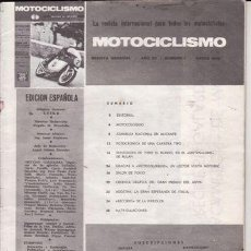Coches y Motocicletas: REVISTA MOTOCICLISMO . Lote 23723798