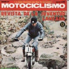 Coches y Motocicletas: REVISTA MOTOCICLISMO Nº DICIEMBRE AÑO 1971. PRUEBA: KAWASAKI 750.. Lote 23723995