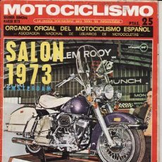 Coches y Motocicletas: REVISTA MOTOCICLISMO Nº 2ª QUINCENA DE MARZO AÑO 1973. PRUEBA: YAMAHA TX 750. PRUEBA: DUCATI 750 SS.. Lote 23725879