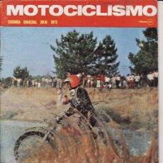 Coches y Motocicletas: REVISTA MOTOCICLISMO Nº 2ª QUINCENA AÑO 1973. PRUEBA MV 750. 24 HORAS MONTJUICH. . Lote 23727323