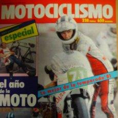 Coches y Motocicletas: .REVISTA ESPECIAL MOTOCICLISMO.ESPECIAL EL AÑO DE LA MOTO 1981.. Lote 23854147