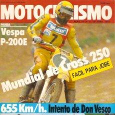 Coches y Motocicletas: MOTOCILISMO Nº 701 PRUEBA VESPA P-200 E. Lote 23965425