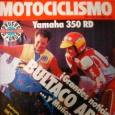 Coches y Motocicletas: REVISTA MOTOCICLISMO NUMERO 678 25 OCTUBRE 1980 YAMAHA 350 RD MOBILETTE. Lote 24307807