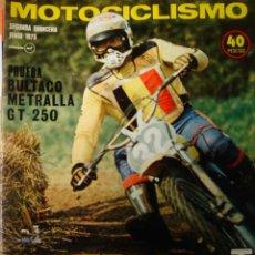 Coches y Motocicletas: REVISTA MOTOCICLISMO SEGUNDA QUINCENA JUNIO 1975 BULTACO MORINI. Lote 78484463