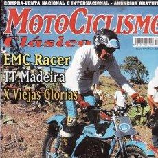 Coches y Motocicletas: REVISTA MOTOCICLISMO CLÁSICO Nº 4. PRUEBA: OSSA ENDURO 250 E 71. DRLAN GAVILÁN 125.. Lote 171459332
