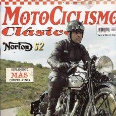 Coches y Motocicletas: REVISTA MOTOCICLISMO CLÁSICO Nº 30. PRUEBA: NORTON S2. MONTESA BRIO 110 S. TERROT 350 HSSO.. Lote 24635652