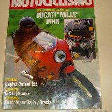 Coches y Motocicletas: MOTOCICLISMO 864 - DE 1984. Lote 24646938