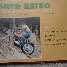 Coches y Motocicletas: MOTOCICLISMO MOTO RETRO NUM. 47. Lote 26323332