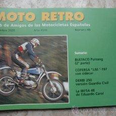 Coches y Motocicletas: MOTO RETRO UNM. 49. Lote 26323334