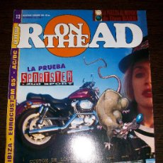 Coches y Motocicletas: ON THE ROAD (LA REVISTA DEL BIKER) Nº 13 DICIEMBRE 1995 - HARLEY - CHOPPER - CUSTOM. Lote 24909983