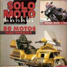 Coches y Motocicletas: REVISTA SOLO MOTO Nº 786 JUNIO 1991 SUZUKI GSXR 1100 GP EUROPA GP DE AUSTRIA MUNDIAL DE TRIAL DIRT T. Lote 24980796