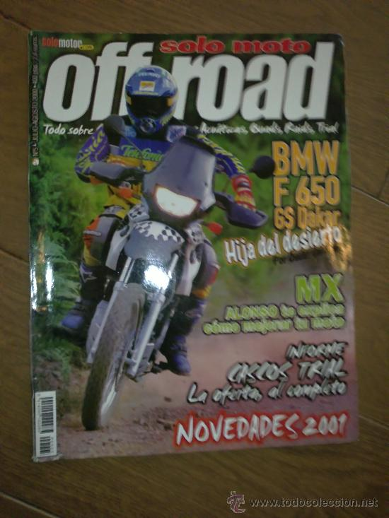REVISTA SOLO MOTO OFF ROAD AÑO 2000 N 5 (Coches y Motocicletas - Revistas de Motos y Motocicletas)
