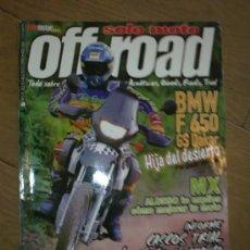 Coches y Motocicletas: REVISTA SOLO MOTO OFF ROAD AÑO 2000 N 5. Lote 26474872