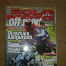 Coches y Motocicletas: REVISTA SOLO MOTO OFF ROAD AÑO 2001. Lote 26474861