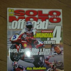 Coches y Motocicletas: REVISTA SOLO MOTO OFF ROAD AÑO 2000 . Lote 26474859