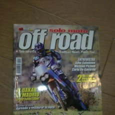 Coches y Motocicletas: REVISTA SOLO MOTO OFF ROAD AÑO 2002. Lote 26474856