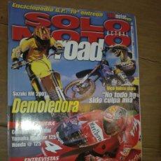 Coches y Motocicletas: REVISTA SOLO MOTO OFF ROAD AÑO 2000 . Lote 26474846
