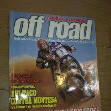 Coches y Motocicletas: REVISTA SOLO MOTO OFF ROAD AÑO 1999. Lote 26474844