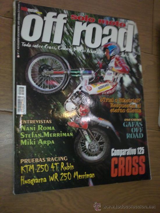 REVISTA SOLO MOTO OFF ROAD AÑO 2000 (Coches y Motocicletas - Revistas de Motos y Motocicletas)