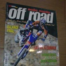 Coches y Motocicletas: REVISTA SOLO MOTO OFF ROAD AÑO 2001. Lote 26474813
