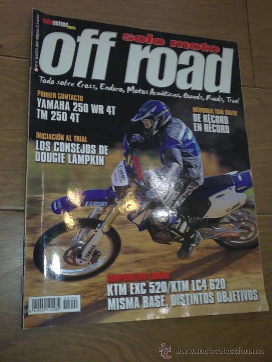 REVISTA SOLO MOTO OFF ROAD AÑO 2001 (Coches y Motocicletas - Revistas de Motos y Motocicletas)