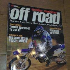 Coches y Motocicletas: REVISTA SOLO MOTO OFF ROAD AÑO 2001. Lote 26474809