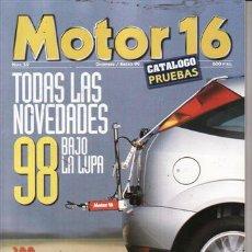 Coches y Motocicletas: REVISTA MOTOR 16 Nº 59 AÑO 1999. CATALOGO PRUEBAS. . Lote 25343294